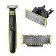 Cabeça de barbear substituição para philips razor qp210/qp50/qp2520/qp2523/qp2527 uma lâmina ferramentas para uso doméstico acessórios de barbear