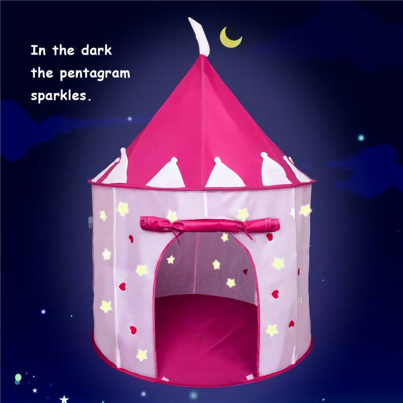 Toys For Girls Kids Children Play Tent House For 3 4 5 6 7 8 9 10 Years Olds Age Children's Tent Game House Luminous Yurt