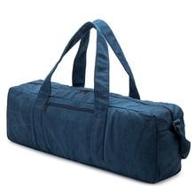 Hand Canvas Yoga Bag Solid Color Gym Bag Yoga Mat Bag Gym Bag Sports Gym Bag