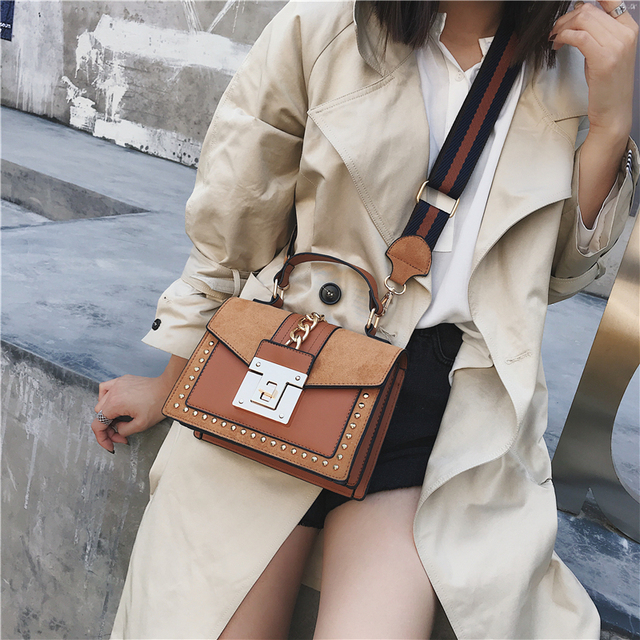 Luxury Suede Leather Сrossbody Bags 4