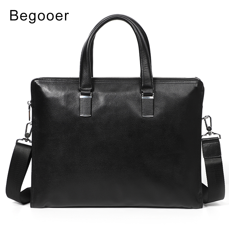 Brand Men Laptop Bag Briefcase Fashion Men's Business Bags Casual Genuine Leather Messenger Bags For Men Handbag Tote Bag