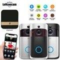 Умная Wi-Fi видеокамера на дверной звонок визуальный домофон с Chime ночного видения IP дверной звонок беспроводной домашней камеры безопасност...