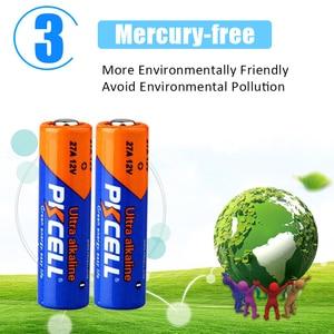 Image 4 - 24PCS PKCELL 12v battery 27a MN27 27A L828 A27 l828 12 v battery Super Alkaline batteries For Doorbell Remote Control