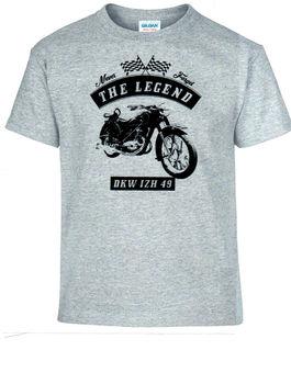 Camiseta, DKW, IZH 49, bicicleta, motocicleta, Vintage, coches clásicos
