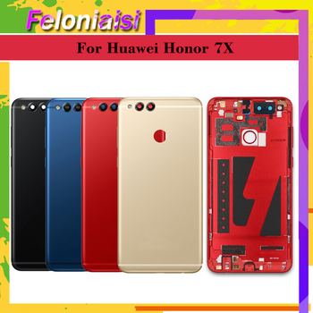 10pcs For Huawei Honor 7X BND-L21 BND-L22 BND-L24 BND-AL10 BND-TL10 Battery Cover Back Housing Rear Door Case full Battery Cover фото