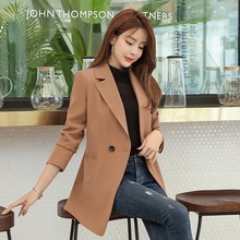 short trench coat Women winter new fashion casual Single Breasted black small Outerwear plus size high quality Female clothes