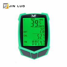 Bicycle Computer Speedometer GPS Bike 20 Functions High Sensitivity Waterproof Wireless Wired Green Ligtht Cycling Accessories