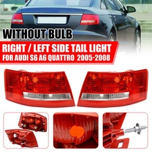 Auto Hinten Rechts/Links Rücklicht Rot Lampe Shell für Audi A6 S6 Quattro Keine Glühbirnen 2005-2008 OE: 4B 5 945 095B(LH) 4B 5 945 096B(RH)