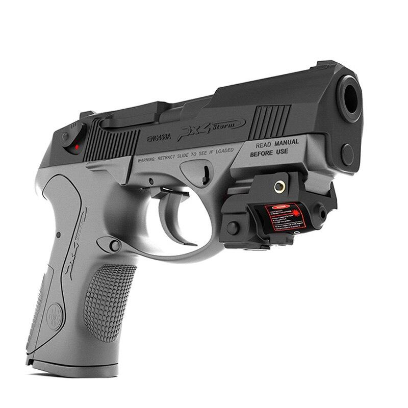 Laserspeed pistola verde puntero láser 5mw recargable 9mm láser airsoft pistolas de aire para disparar glock g17 18c 19 21 26 g28