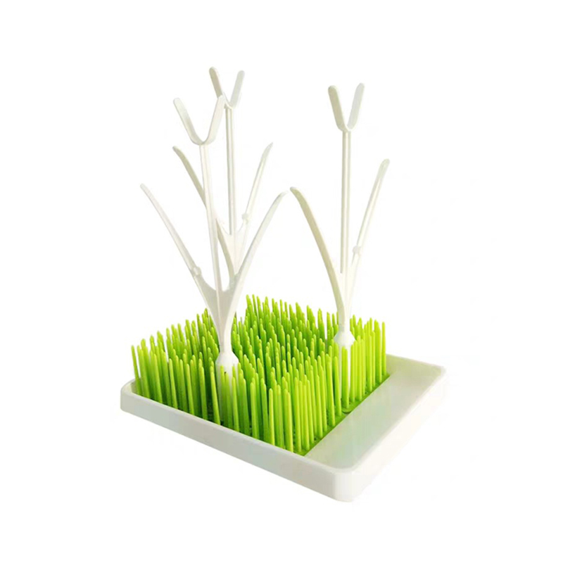 Baby Grass Shape Bottle Drying Rack Infant Pacifier Cleaning Drier Newborn Cup Dishes Breast Pump Accessories Dryer Stand T0782