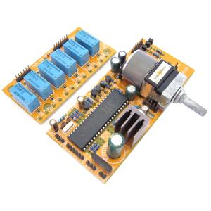 Image 2 - Mv04 alpes quádruplos motorizado controle remoto + potenciômetro de entrada 9 12 v ac placa de controle remoto