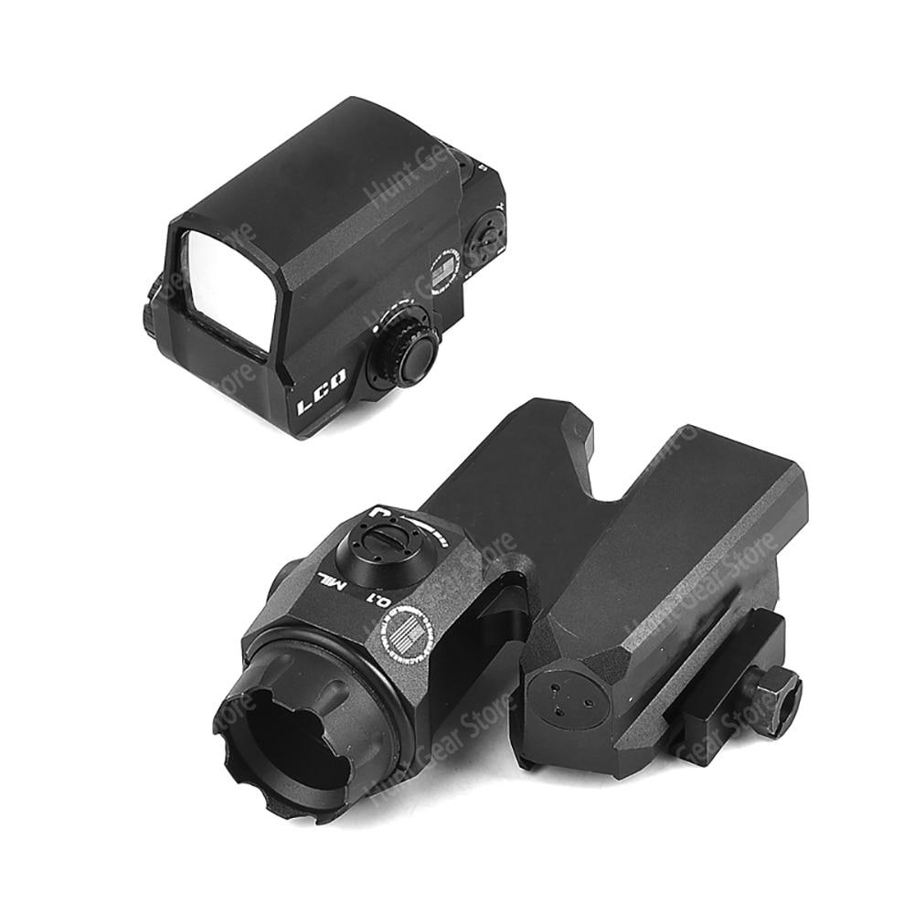 D-EVO Dual-Enhanced Optical Sight D-EVO Reticle Rifle Magnifier Scope / LCO Red Dot Sight Reflex Sight Holographic Sight LP Logo