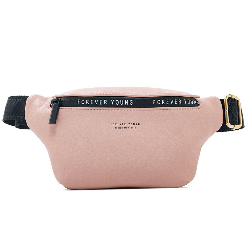 Vento Marea Women Waist Bag Leather Men Fanny Packs Yellow Designer Girl Belt Chest Bag 2019 Pillow Small Female Travel Pouches