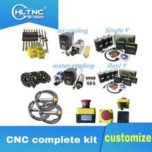 3 aixs cncガイドcnc完全なキットリニアガイドボールねじステッピングモータスピンドルケーブルチェーンcncルータcnc部品cnc modul