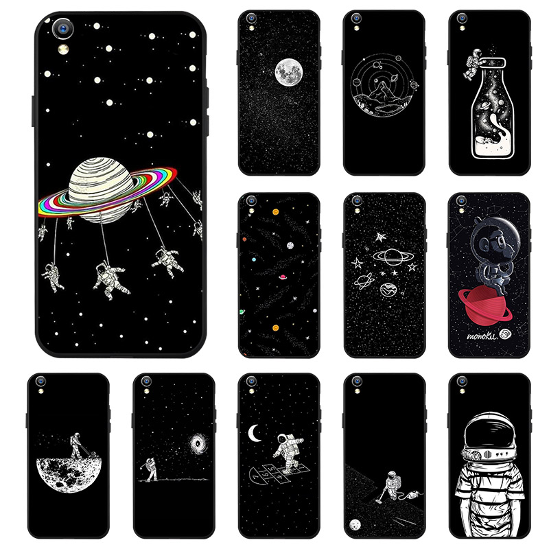 Ojeleye Black Silicon <font><b>Case</b></font> For <font><b>OPPO</b></font> R9 Plus <font><b>Cases</b></font> Anti-knock <font><b>Phone</b></font> Cover For <font><b>Oppo</b></font> A59 <font><b>A71</b></font> R11 R11s Plus R15 R9S A37 Covers image
