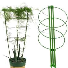 Climbing-Vine-Rack Plant Potted-Support-Frame Trellis-Bracket Decorative Flower Plastic
