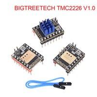 BIGTREETECH-controlador de Motor paso a paso TMC2226 V1.0 UART, piezas de impresora 3D TMC2209 TMC2208 SKR V1.3 SKR V1.4 MINI E3 para Ender 3 CR10
