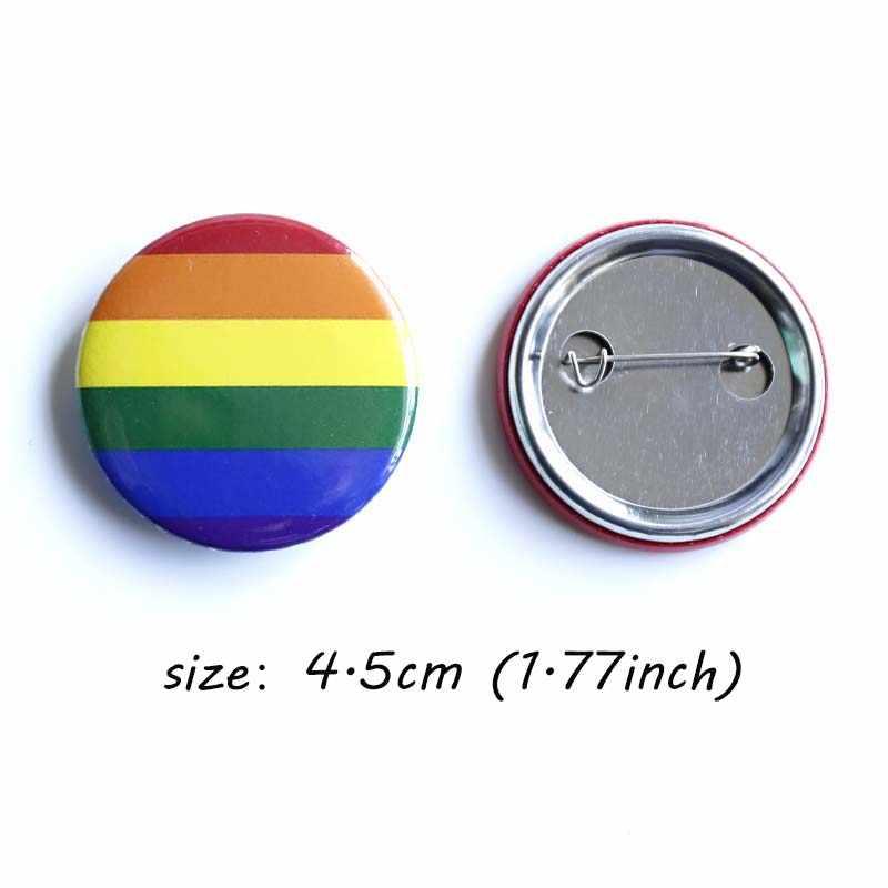 Nengdou Lgbt Pride Regenboog Vlag Badge Rugzak Pictogrammen Gay Lesbische Biseksueel Transgender Pansexual Aseksuele Symbool Pin Diy Broche