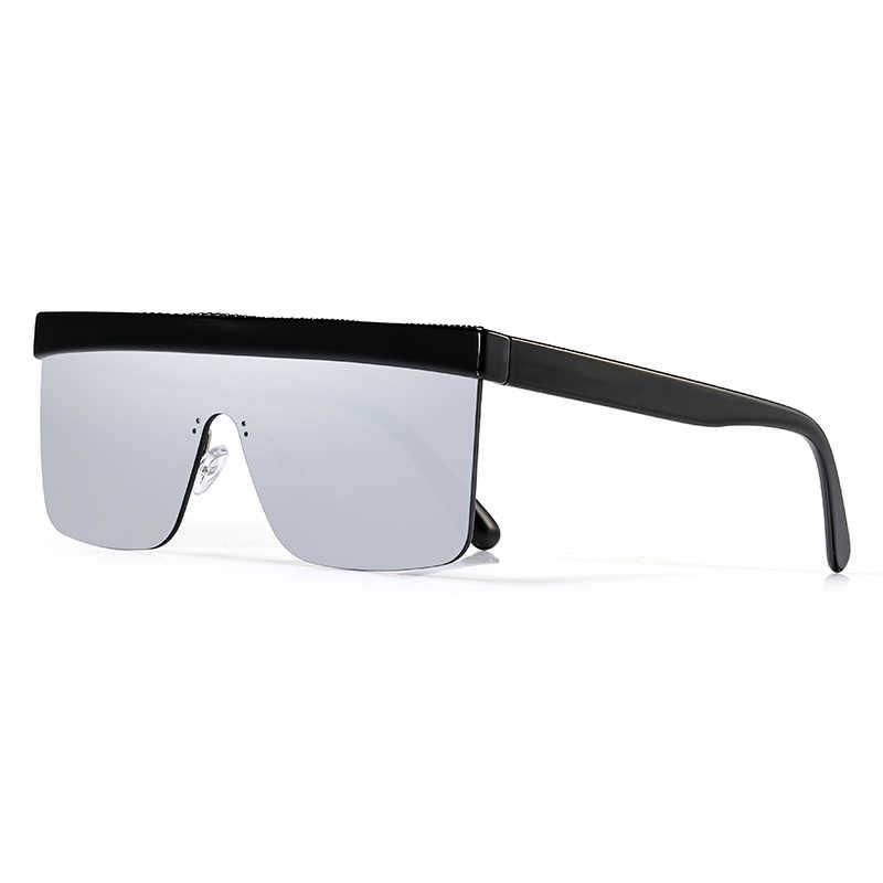 KDEAM Oversized Sunglasses Mulheres One Piece Projetado Óculos de Sol Do Vintage oculos de sol feminino