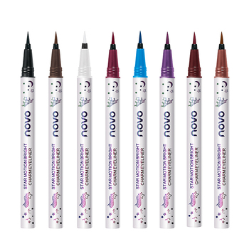 NOVO New Waterproof Long-lasting Eyeliner Colorful Matte Liquid Eyeliner Pencil Pigment Party Durable Natural Party TSLM1 1