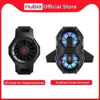 100% Original Nubia Rot Magie 5G 5S EIS Dock Universal Nubia RedMagic 6 6 Pro EIS Dock Dual core Fan Kühler Universal