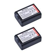 2Pack 2000mAh NP FW50 NPFW50 NP FW50 Batteria per Sony Alpha a33,a35,a37,a55, SLT A33,SLT A35,SLT A37,SLT A37K,SLT A37M,SLT A55