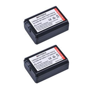 Image 1 - 2Pack 2000mAh NP FW50 NPFW50 NP FW50 Battery for Sony Alpha a33,a35,a37,a55, SLT A33,SLT A35,SLT A37,SLT A37K,SLT A37M,SLT A55