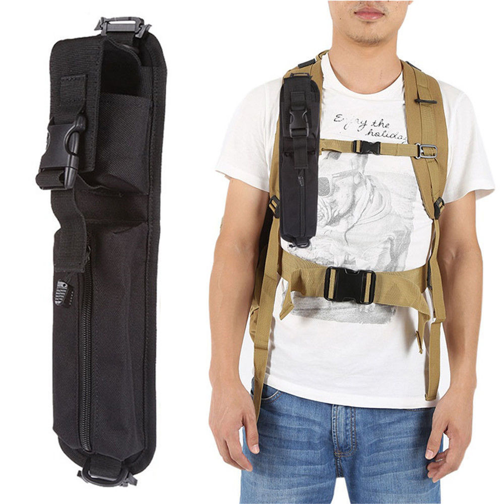 Tactical Shoulder Strap Sundries Bags for Backpack Accessory Pack Key Flashlight Pouch Molle Outdoor Camping EDC Kits Tools Bag