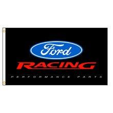 90x150cm ford racing desempenho peças bandeira