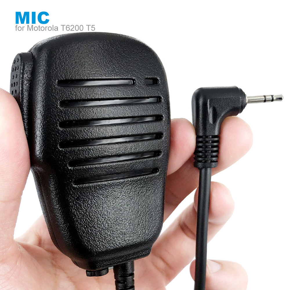 Speaker PTT Microphone Mic For Motorola TLKR T80 T60 T5 T7 T5410 T5428 T6200 FR50 XTR446 Walkie Talkie Two Way Radio