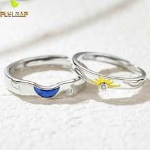 Романтическое кольцо с Луной солнца серебряное цирконом для
