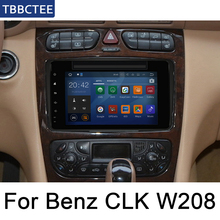 For Mercedes Benz CLK C208 W208 1996~2008 NTG Android Multimedia System Car DVD Player GPS Navigation Radio Video IPS LCD Screen цена