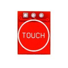 цена на 763 Ttp223 Touch Button Module Self-Locking Jog Capacitive Switch Single-Channel Retrofit Board Module