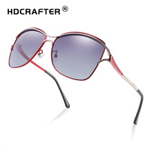 Ladies Cat Eye Sunglasses Polarized Brand Designer Driving Sun Glasses Men Women