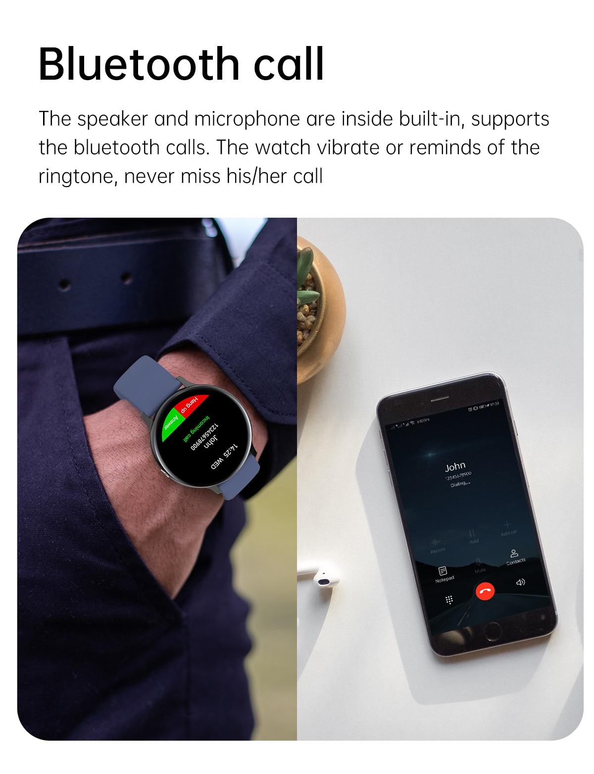H574af041b5954e2dbd9718b8a6a3d19fJ LIGE 2021 Bluetooth Answer Call Smart Watch Men Full Touch Dial Call Fitness Tracker IP67 Waterproof 4G ROM Smartwatch for women