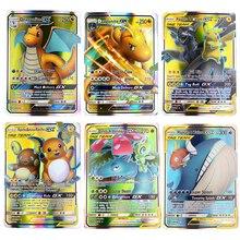 Toy Tomy-Cards Trading Pokemons TAKARA Game English-Cards-Game Carte MEGA Shining GX