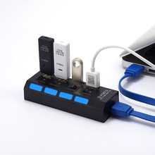 USB3.0 HUB 4-port 3.0 splitter 3.0 hub with indepe