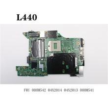 For Lenovo ThinkPad L440 Laptop Motherboard HM86 FRU 04X2013 04X2014 00HM534 00HM542