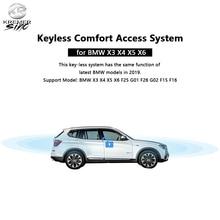 무료 배송 애프터 마켓 열쇠가없는 컴포트 액세스 B M W X3 X4 X5 X6 F25 G01 F26 G02 F15 F16