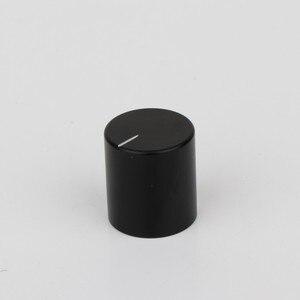 Image 5 - Preffair 4 * KN2022 מחורץ 100% מלא אלומיניום פוטנציומטר נפח ידיות מגבר Amp אפקט פדאל ידיות כסף עבור 6mm קוטר Knu