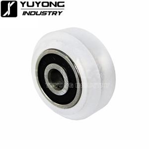 Image 3 - Roue de Xtreme en Polycarbonate transparent CNC de haute précision, roue à fente en v solide, pour rail à fente en v, OX CNC, pièces de faisceau C 3D