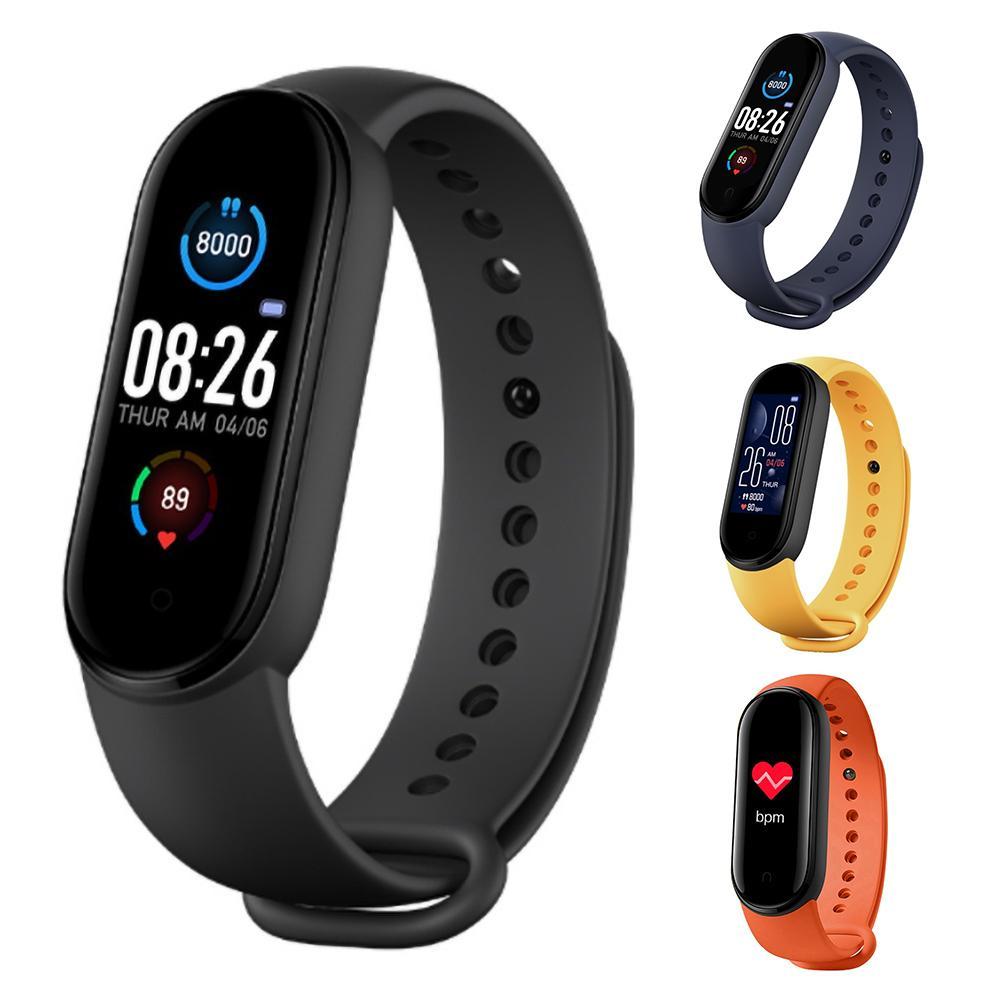 M5 Color Touch Screen Smart Watch Men women Fitness Tracker Heart Rate Monitor IP67 Waterproof Sports Wristband Smart Bracelet