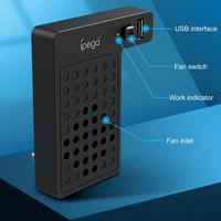 HOT ABS Langlebig Vertikale Lüfter Für Xbox Serie X Konsole Kühler Mit Externe USB Port Temperatur Control Schalter Taste