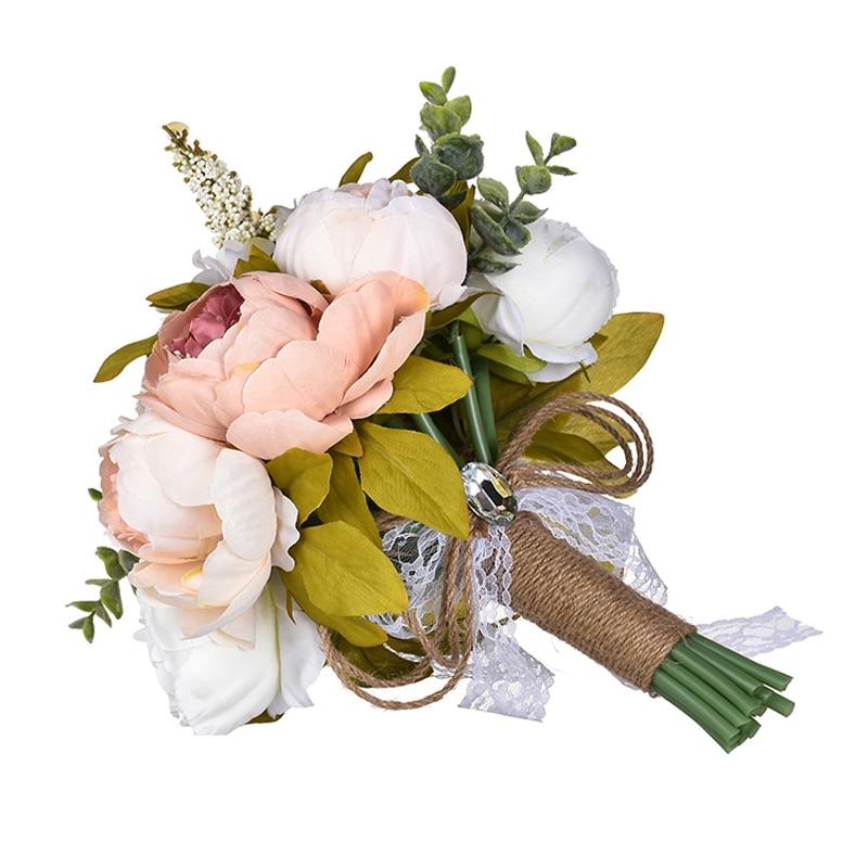 32*27cm Bridal Bouquets New Arrival European Style Bridal Bouquest Wedding Flowers