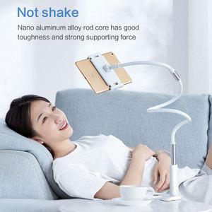 Image 3 - SmartDevil 유니버설 홀더 for iPad 접이식 홀더 for iPhone 12 Pro Max 침대 침대 옆 게으른 브래킷 360 클립