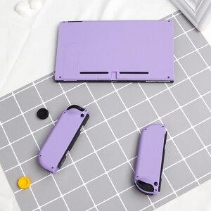 Image 5 - Myriann yedek anahtar konsolu arka kapak için Nintendoswitch NS oyun konsolu joy con anahtarı konut 8 renk ile