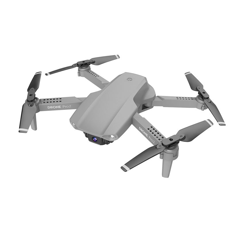 E99 Pro Dual-Lens Drone Folding Quadcopter Air Pressure Fixed Height Remote Control Aircraft