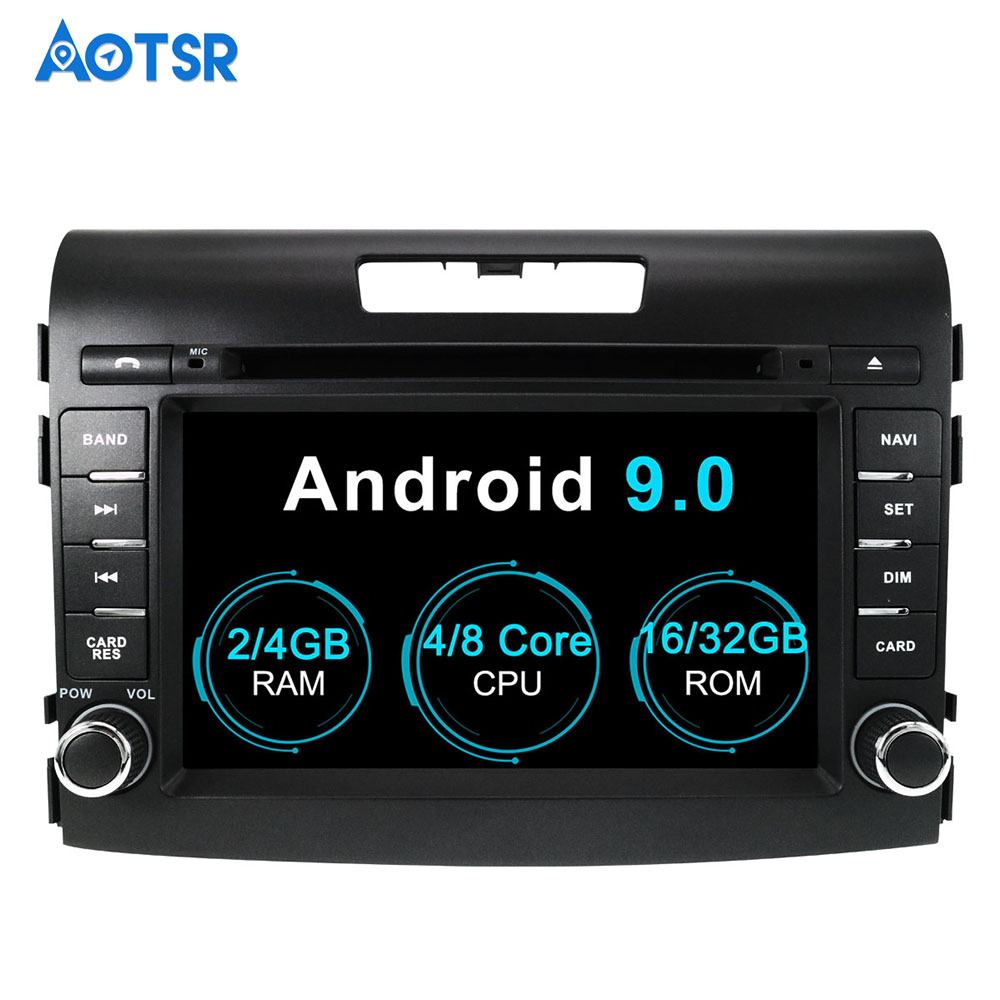 Android 9.0 Core PX5 A72 Ram 4G Rom 32G Car DVD GPS <font><b>Multimedia</b></font> Player Car Stereo For <font><b>HONDA</b></font> <font><b>CRV</b></font> 2012 2013 <font><b>2014</b></font> car radio headunit image