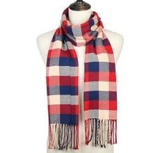 2019 New Brand Women Winter Scarf Warm Pashmina Bandana for Ladies Cashmere Scarves Thick Neckerchief Soft Knit Echarpe Hijabs