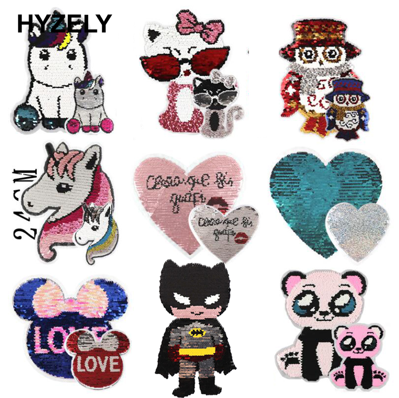 Sew On Motifs or Iron On Dresses Garments Appliques Patches 4.5cm Colourful Owl